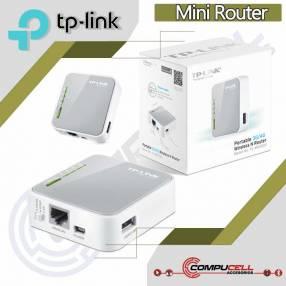 Router inalámbrico N 3G/4G portátil TL-MR3020