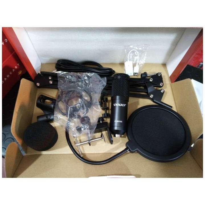 Micrófono p/ estudio condensador Sate A-MK105 - 1