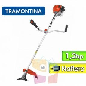 Desmalezadora motor naftero 1,2 hp Tramontina RC33MTD