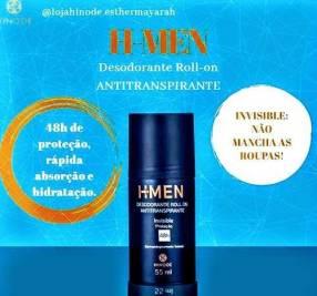 Desodorante H Men Hinode 48 hs de protección