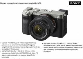 Cámara Sony A7C kit 28-60mm f/4-5.6.