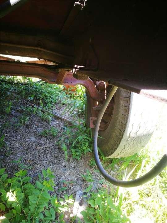Tanque con eje para remolcar - 5