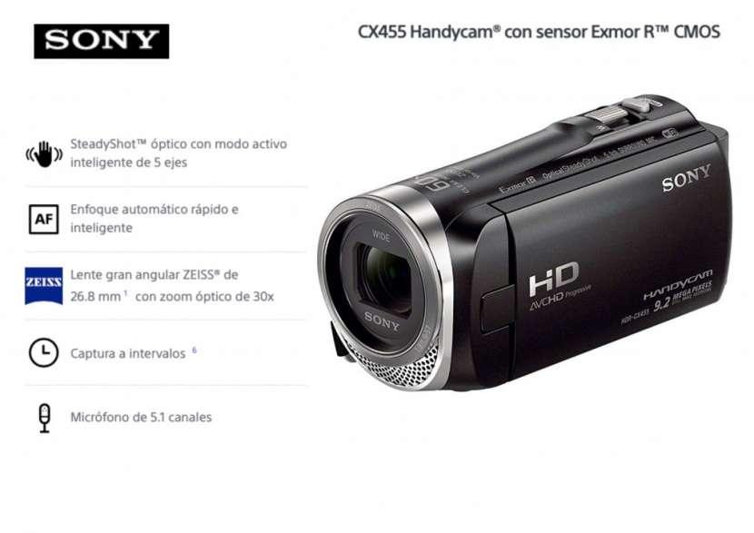 Filmadora Sony HDR-CX455 - 0