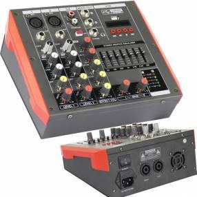 Consola amplificada 4 canales