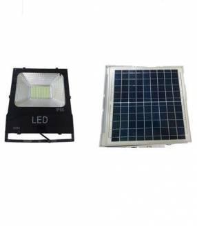 Alumbrado con panel solar