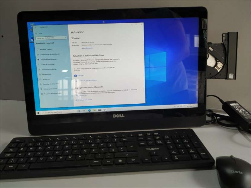 Dell Inspiron 20 3052 AIO touch screen