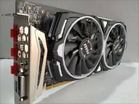 GPU AMD MSI Radeon RX 580 Armor 4gb OC
