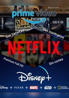 Netflix + Amazon + Disney Plus