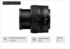 Lente Nikon Z 24-50mm F/4-6.3