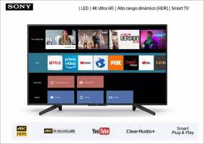 Televisor smart led 4k Sony 49 pulgadas