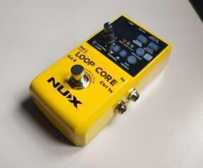 Pedal Nux Loop Core para guitarra eléctrica