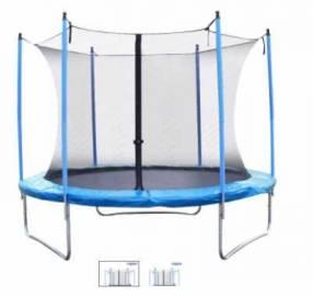 Cama elástica Nappo con red de seguridad 10FT-3,00 mts