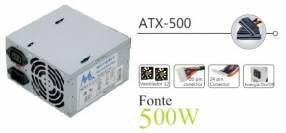 Fuente 500W MTEK (20+4 P) KT500