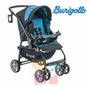 Carrito de bebé Burigotto AT6 K Negro Azul
