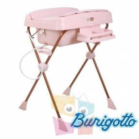 Bañera con cambiador y reductor Burigotto Millenia Mon Amour