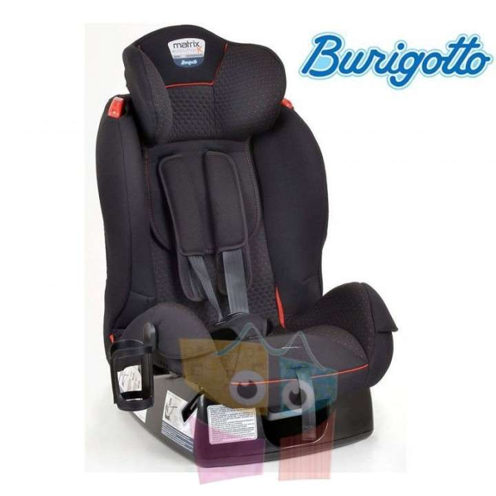 Asiento para autos Burigotto Matrix Evolution K - Rojo - 0