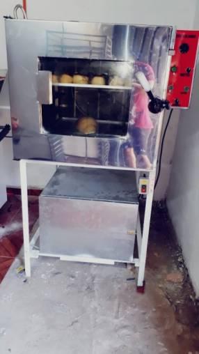 Horno de 5 bandejas con cámara fermentadora
