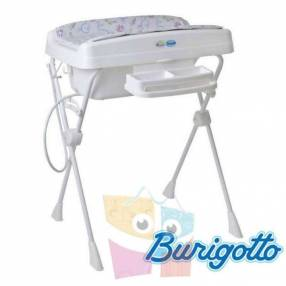 Bañera con cambiador y reductor Burigotto Millenia Océano