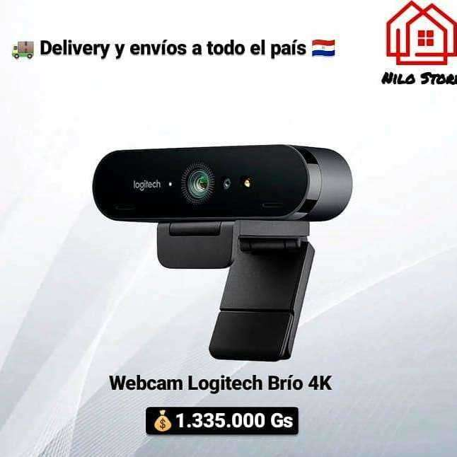 Webcam Logitech Brío 4k - 0
