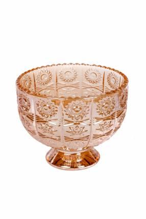 Florero de Cristal en Forma de Copa