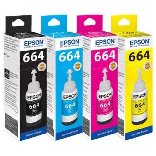 Tinta Epson 664 Negra - 0
