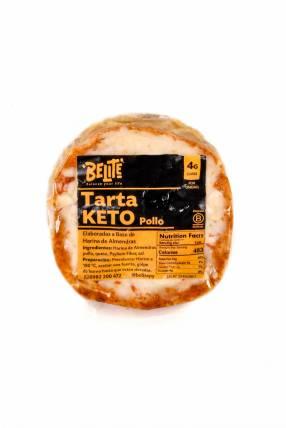 Tarta Keto de Pollo - Belite