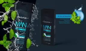 Laevia Shampoo 3 en 1 Energy Menthol de 200 ml.