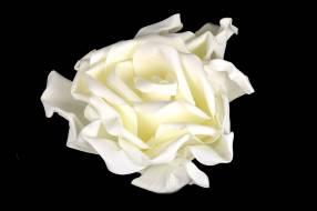 Rosa Artificial Color Blanco