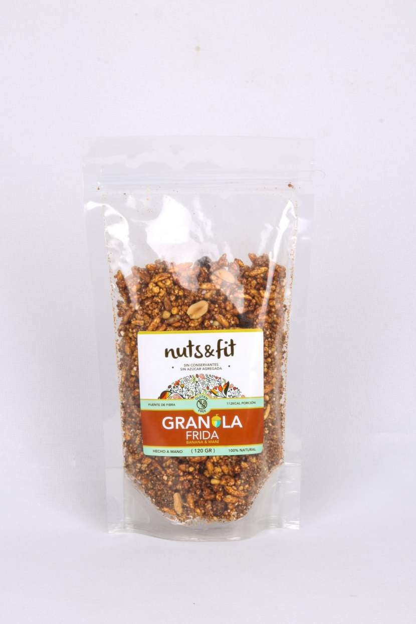 Fit Granola Frida de 120 Gramos Nuts & - 1