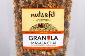 Fit Granola Masala Chai de 200 Gramos Nuts &