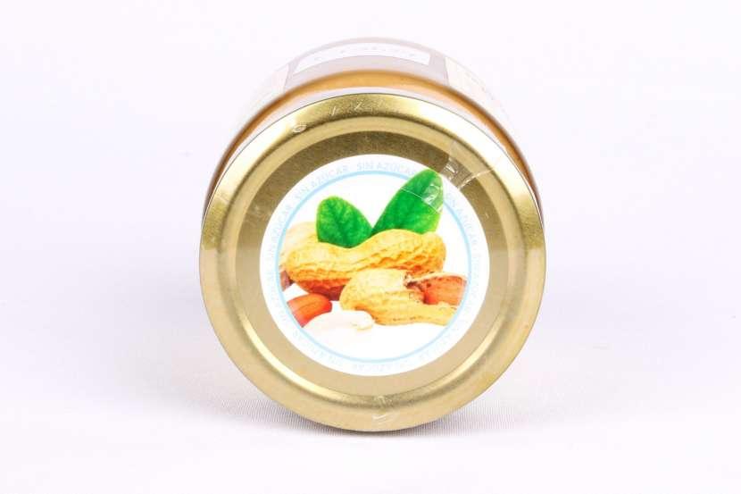 Fit Mantequilla de Maní Crunchy de 230 Gramos Nuts & - 0