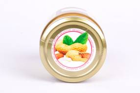 Fit Mantequilla de Mani Natural de 230 Gramos Nuts &