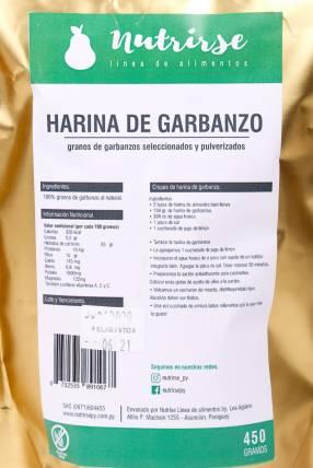 Harina de Garbanzo de 450 Gramos Nutrirse