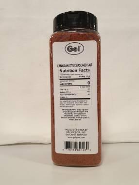 Sal para carnes Seasoned Salt Canadian Style -