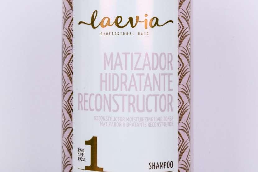 Laevia Shampoo Matizador Hidratante Reconstructor de 1000 ml. - 0