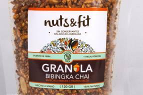 Fit Granola Bibingka Chai de 200 Gramos Nuts &