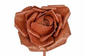 Rosa Artificial con Brillo
