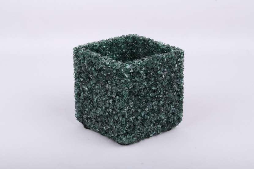 Portavelas de Cristal Natural - 2