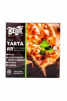 Tarta Fit de Queso y Cebolla con Masa de Avena - Belite