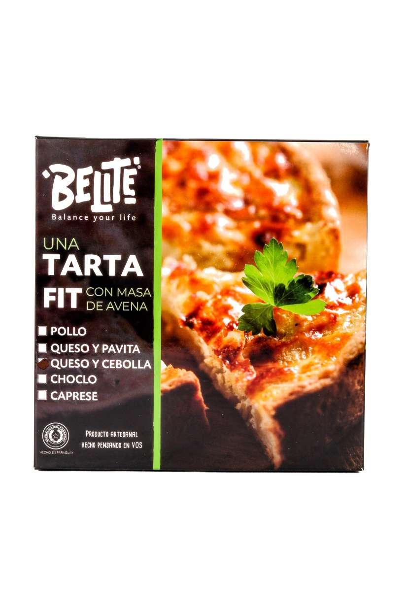 Tarta Fit de Queso y Cebolla con Masa de Avena - Belite - 0