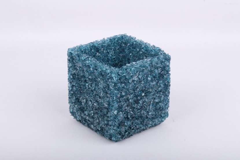 Portavelas de Cristal Natural - 3