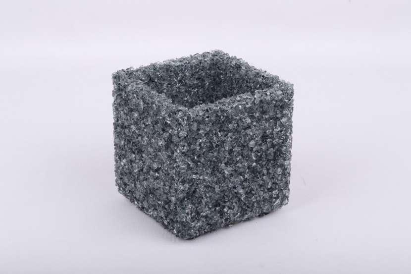 Portavelas de Cristal Natural - 1