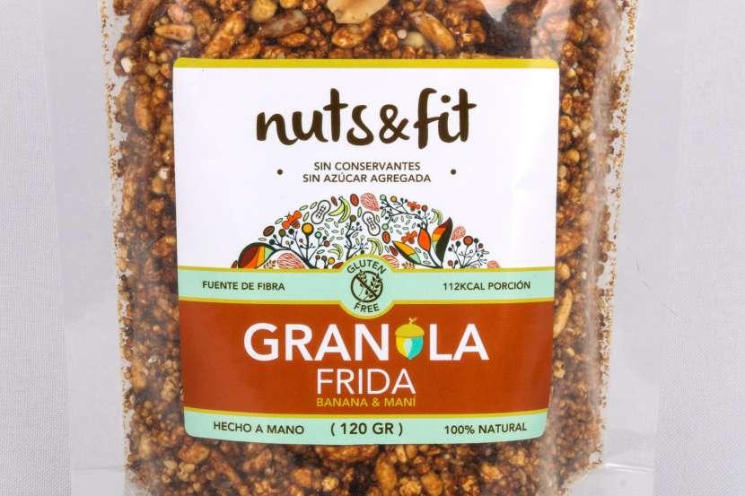 Fit Granola Frida de 120 Gramos Nuts & - 0