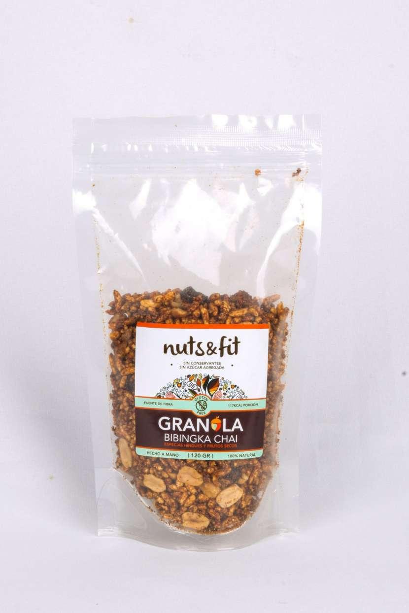 Fit Granola Bibingka Chai de 200 Gramos Nuts & - 1