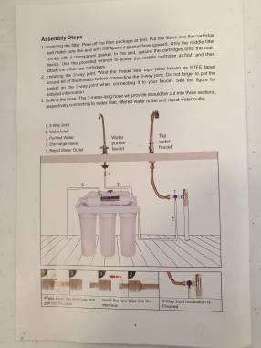 Purificador de Agua Triple