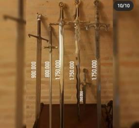 Espadas hechas de Toledo