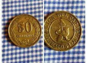50 céntimos de 1951