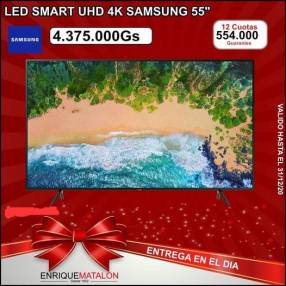 Smart TV Samsung 4K 55 pulgadas