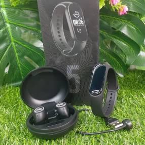 Reloj M5 + auricular JBL