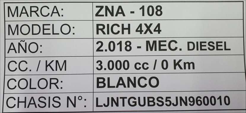 Nissan ZNA Rich 2018 doble cabina motor 3000 turbo diésel mecánico 4x4 - 8
